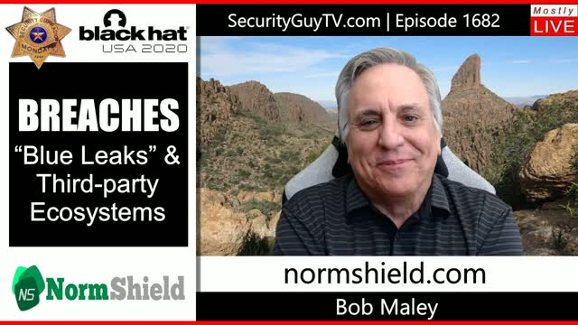 """Episode 1682 - Security Guy TV - BREACHES """"Blue leaks"""" & third-party Ecosystems"""