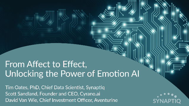 From Affect to Effect, Unlocking the Power of Emotion AI