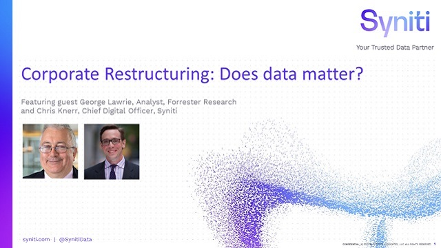 Corporate Restructuring: Does data matter?