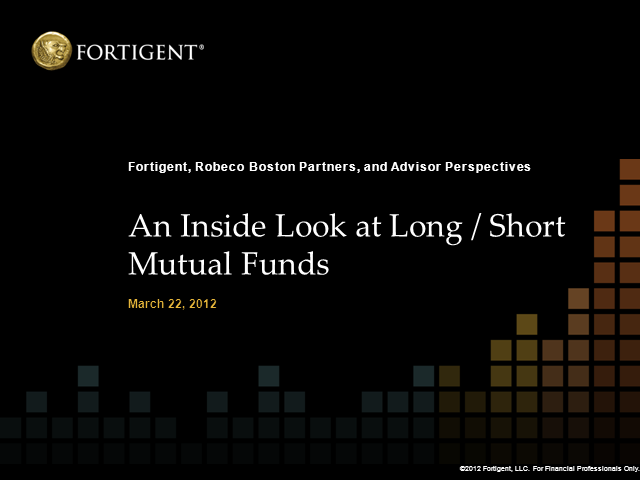 An Inside Look at Long/Short Mutual Funds