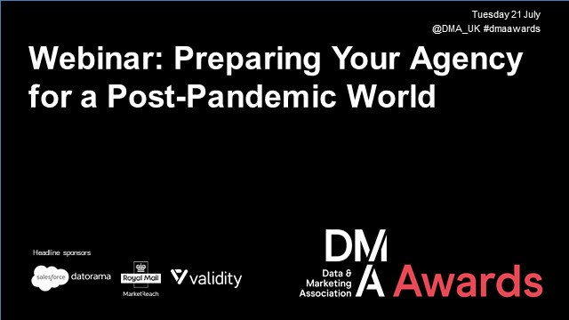 Webinar: Preparing Your Agency for a Post-Pandemic World