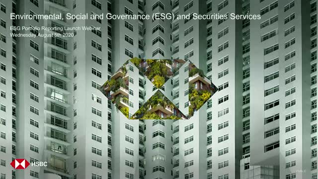 HSBC launches ESG Portfolio Reporting Service