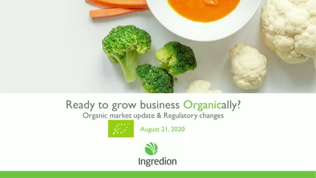 Tap into the Growing Potential of Organic
