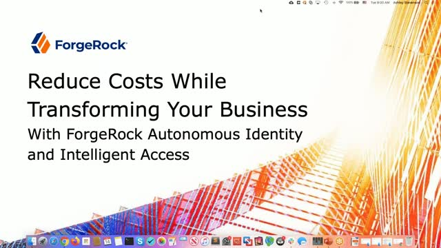 Reduce Costs While Transforming Your Business with ForgeRock Autonomous Identity