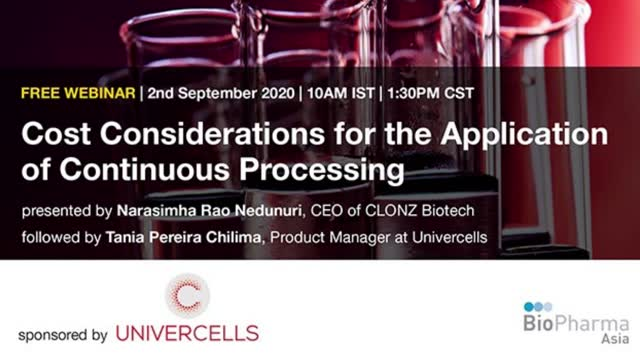 Cost Considerations for the Application of Continuous Processing