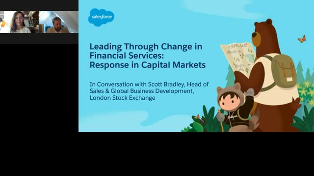 Leading Through Change in Financial Services: Response in Capital Markets
