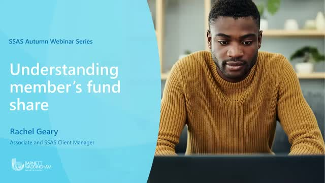 Calculating member fund shares and earmarking investments for advisers