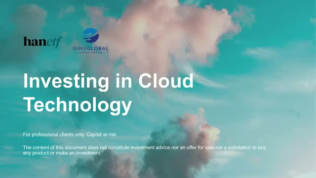 Investing in Cloud Technology
