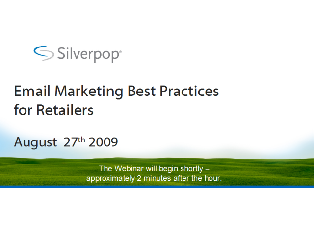 Email Marketing Best Practices for Retailers