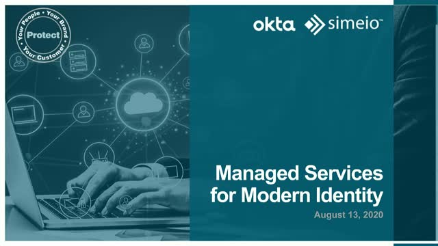 Managed Services for Modern Identity