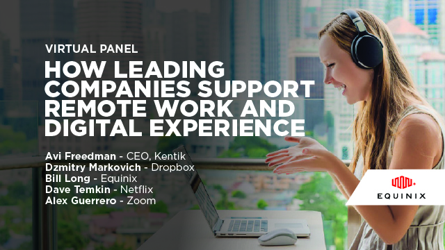 Virtual Panel - How Leading Companies Support Remote Work and Digital Experience