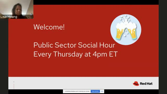 Public Sector Social Hour - Containers