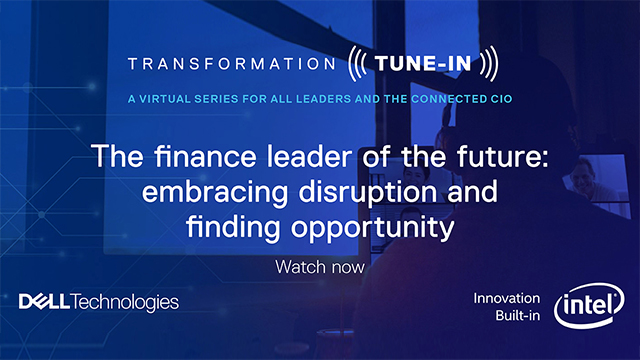 The finance leader of the future: embracing disruption and finding opportunity