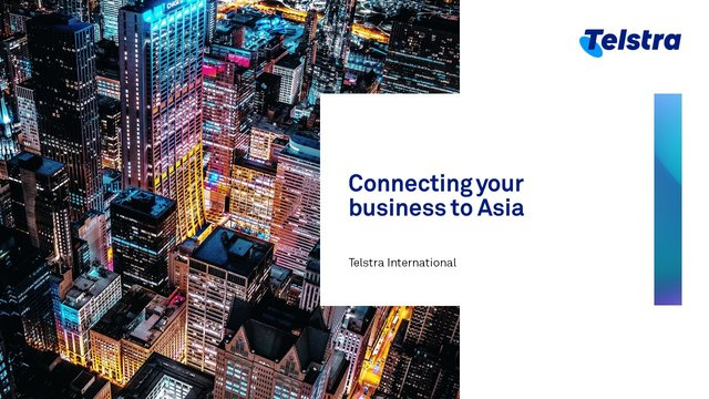 Connecting your business to Asia - Telstra International