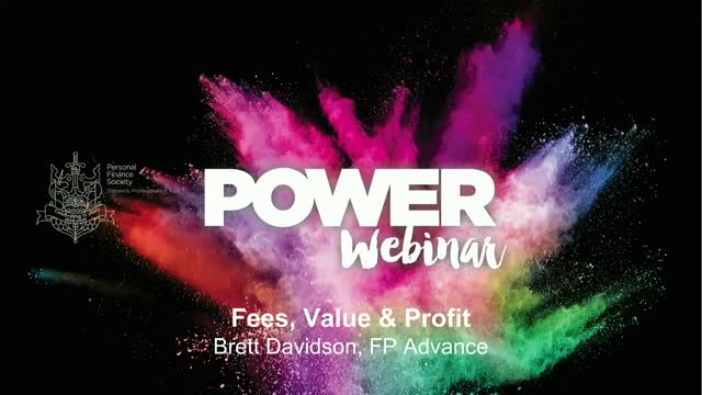 Fees, Value and Profit: Getting the Balance Right