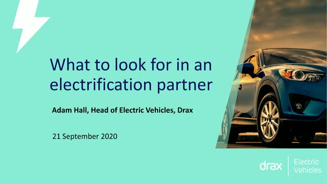 Electric Vehicles: What to look for in an electrification partner