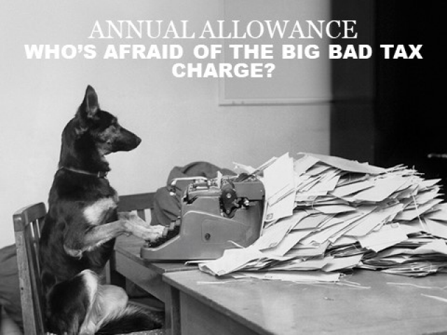 Annual allowance – who's afraid of the big bad tax charge