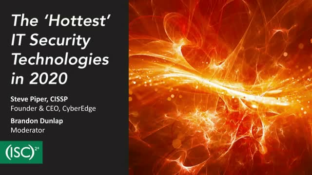 The 'Hottest' IT Security Technologies in 2020
