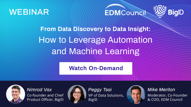 From Data Discovery to Data Insight: How to Leverage AI & Machine Learning