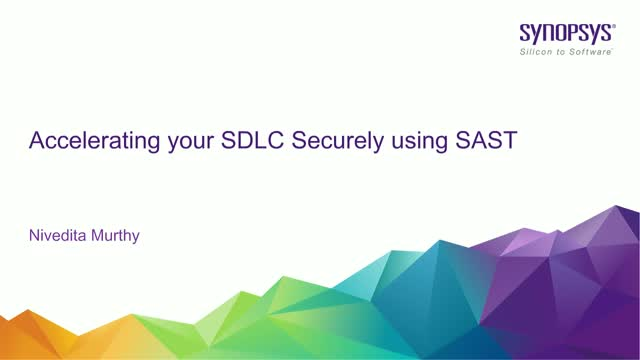 Accelerating your SDLC Securely using SAST