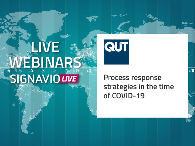 Process response strategies in the time of COVID-19