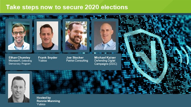 Key steps for election officials & campaigners to secure the 2020 elections