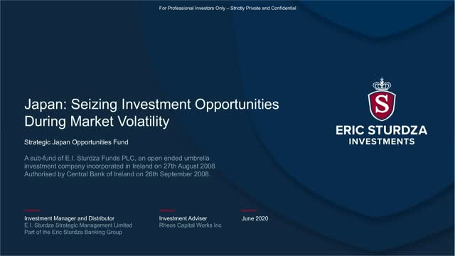Japan - Seizing Investment Opportunities During Market Volatility