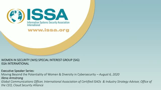 Moving Beyond the Potentiality of Women & Diversity in Cybersecurity