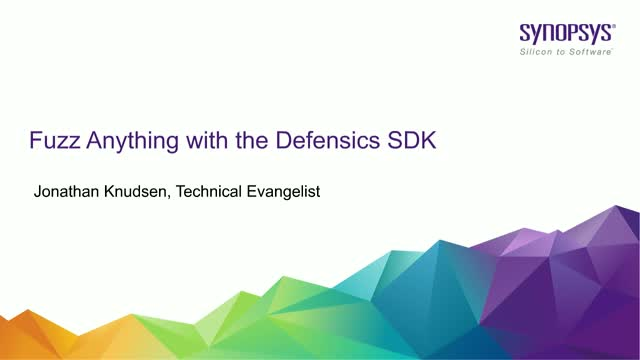 Fuzz Anything with the Defensics SDK