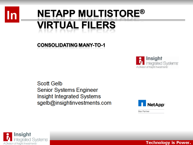 Increase Your Storage Uptime Using NetApp Virtualization