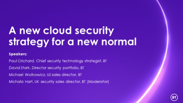A new cloud security strategy for a new normal