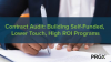 Contract Audit: Building Self-Funded, Lower Touch, High ROI Programs