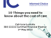10 things you need to know about the cost of care