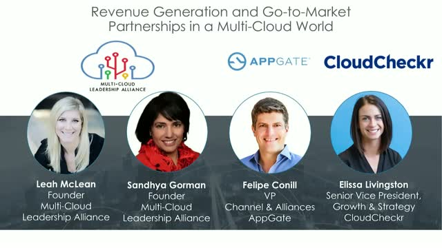 Revenue Generation and Go-to-Market Partnerships in a Multi-Cloud World