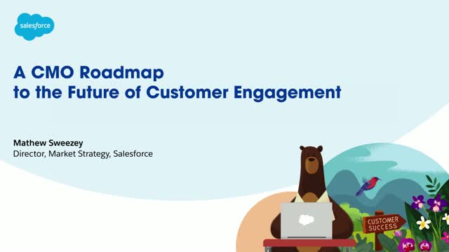 A CMO roadmap to the future of customer engagement