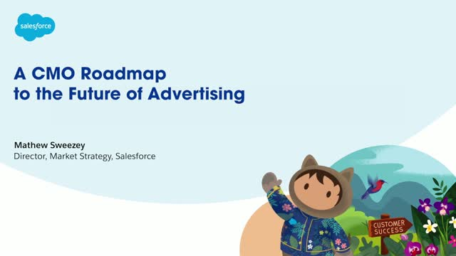 A CMO roadmap to the future of advertising