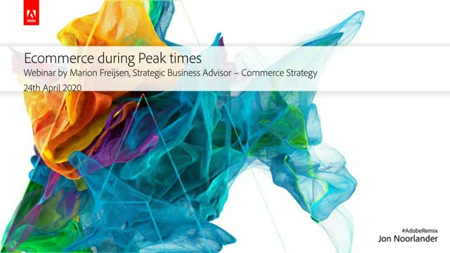 E-Commerce best practices in peak times