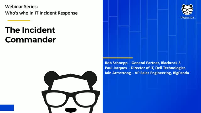 Who's who in IT Incident Management: The Incident Commander