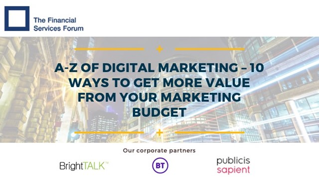 A-Z of Digital Marketing: 10 Ways to Get More value from Your Marketing Budget