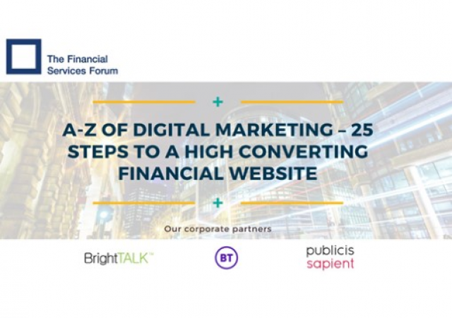 The A-Z of Digital Marketing: 25 Steps to a High Converting Financial Website