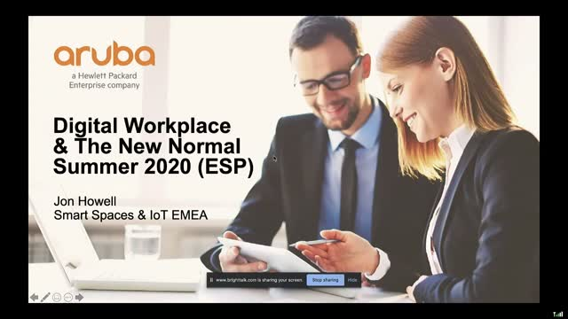 Aruba and the New Normal Workplace