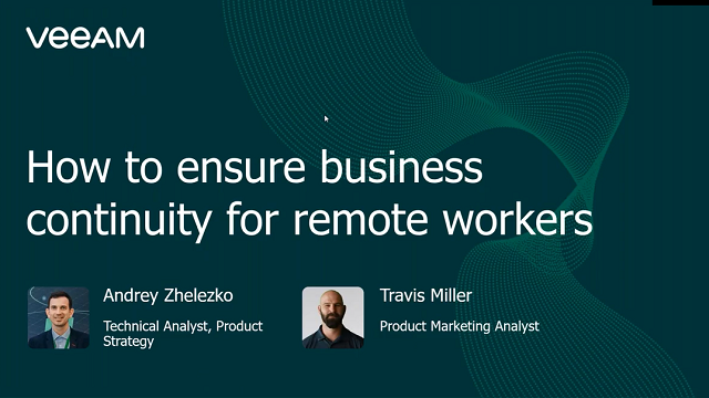 How to Ensure Secure Business Continuity for Remote Workers