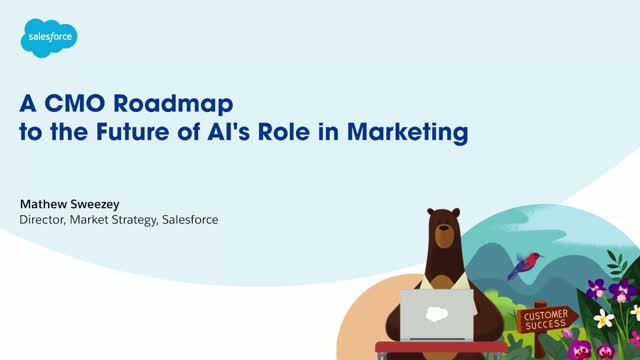 A CMO roadmap to the future of AI's role in Marketing