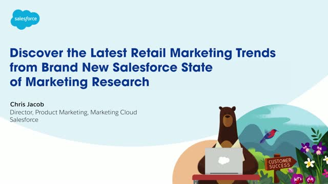 Discover the latest Retail marketing trends from brand new Salesforce State of M