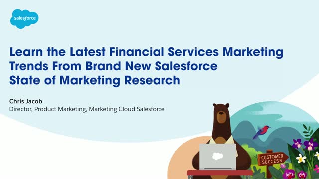 Learn the latest Financial Services marketing trends