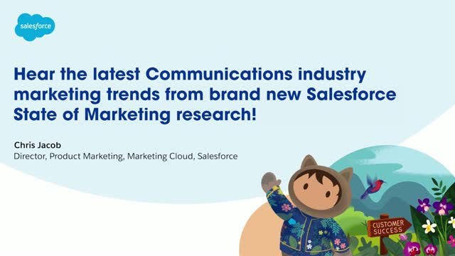 Hear the latest Communications industry marketing trends