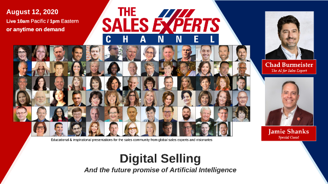 Digital Selling – The Future Promise of Artificial Intelligence