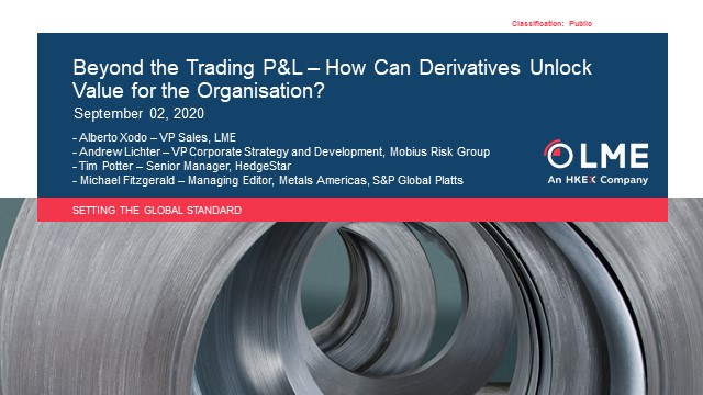 Beyond the Trading P&L – How Can Derivatives Unlock Value for the Organisation?