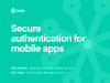 Secure authentication for mobile apps