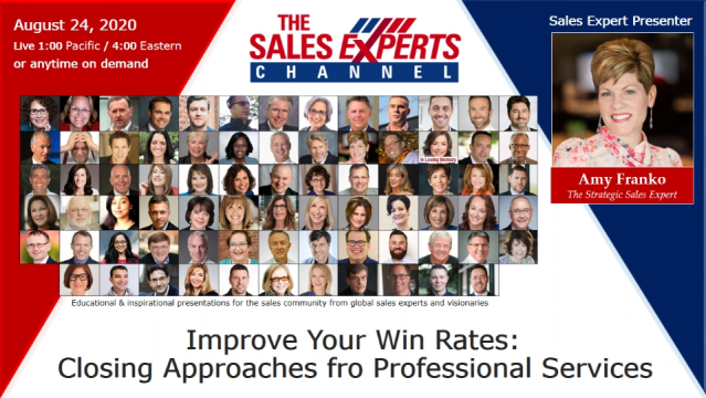 Improve Your Win Rates: Closing Approaches for Professional Services